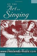 On the art of singing. Miller, Richard