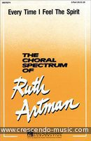 Every Time I Feel the Spirit. Artman, Ruth