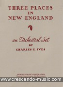 3 Places in New England (Full score). Ives, Charles E.