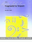 Fragments for timpani. Beck, John H.