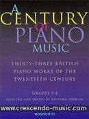 A century of piano music. Album