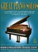 View a sample page! Great piano solos - The film book - Album