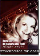 30 Caprices for flute -A study guide with Amy Porter (DVD). Karg-Elert, Siegfried