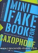 Mini Fake Book for Saxophone. Album