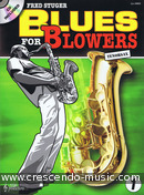 Blues for blowers - 1 (Tenor saxophone). Stuger, Fred
