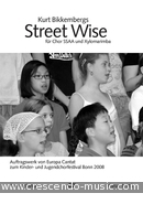View a sample page! Street Wise (Chorpartitur) - Bikkembergs, Kurt