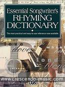 Essential songwriter's rhyming dictionary. Mitchell, Kevin