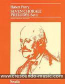 7 Chorale preludes - Set 1. Parry, Hubert