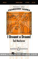 I dreamt a dream. Machover, Tod
