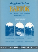 14 little pieces from the Series For Children. Bartok, Bela