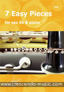 View a sample page! 7 Easy pieces for sax Eb & piano - Album