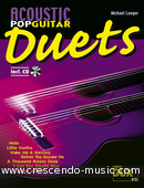 Acoustic pop guitar duets. Album
