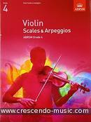 Scales and arpeggios for violin - Grade 4. Album