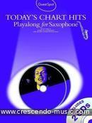 Guest Spot: Today's Chart Hits (Playalong for alto sax). Album