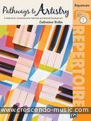 Pathways to artistry - Repertoire book 1. Rollin, Catherine