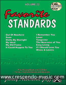 Aebersold Vol.22 - Favorite Standards. Aebersold, Jamey