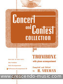 Concert and contest collection (Cd accompaniment). Album