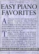 The Library of Easy Piano Favorites. Album