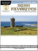 Irish Favorites - Instrumental playalong (Tenorsaxofoon). Album