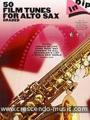 50 Film Tunes for alto sax. Album