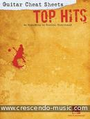 Guitar Cheat Sheets: Top Hits (44 Mega-Hits in shorthand). Album