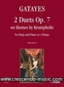 2 Duets on themes by Krumpholtz, Op.7. Guillaume, Gatayes