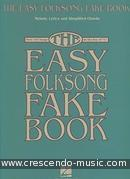 The Easy Folksong Fake Book (C). Album