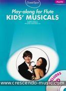 Guest Spot: Kids's Musicals (Playalong for flute). Album