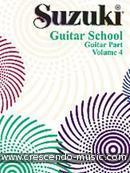 View a sample page! Suzuki Guitar school - 4 (Guitar part) - Suzuki, Sh.
