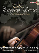 12 European dances. Dirriwachter, Wim
