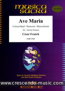 View a sample page! Ave Maria - Franck, César