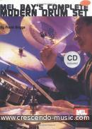 Complete Modern Drum Set (Book & cd). Briggs, Frank