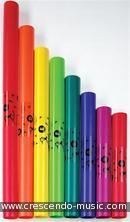 Boomwhackers: 8 note diatonic set.