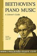 Beethoven's piano music - A listener's guide. Lederer, Victor