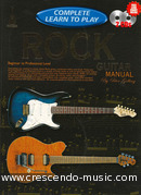 Complete learn to play rock guitar (Manual). Gelling, Peter