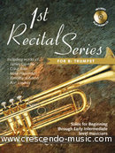 1st Recital Series for Bb Trumpet. Album