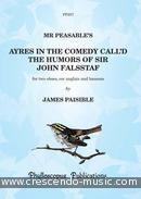 Mr Peasable's ayres in the comedy call'd the humors of sir... Paisible, James