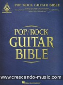 Pop/Rock guitar bible. Album