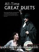All-Time Great Duets (Book & 4 cd's). Album