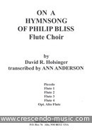 On a hymnsong of Philip Bliss. Holsinger, David R.