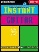 Berklee instant guitar: Play right now!. Fujita, Tomo