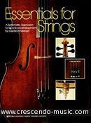 Essentials for strings - Bass. Anderson, Gerald E.