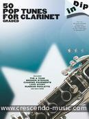 Voir le contenu! 50 Pop tunes for clarinet - Album