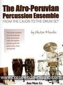 The Afro-Peruvian percussion ensemble. Morales, Hector