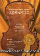 Bekijk een voorbeeldpagina! 1st position string quartet: Romantic - Paganini, Niccolo; Felix Mendelssohn-Bartholdy; Offenbach, Jacques