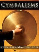Cymbalisms - complete guide for the orchestral cymbal player. Epstein, Frank