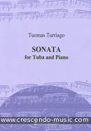 Sonata for Tuba and Piano. Turriago, Tuomas