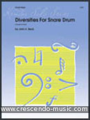 Diversities for snare drum (5 Grade 4-6 solos). Beck, John H.