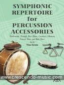 Symphonic Repertoire for Percussion Accessories. Genis, Tim