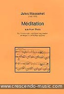 Méditation aus Thais (Score and parts). Massenet, Jules